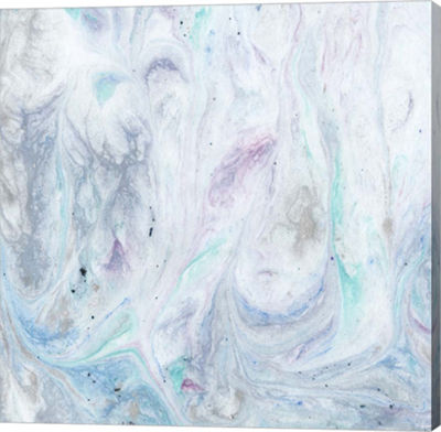 Metaverse Art Marble III Canvas Wall Art