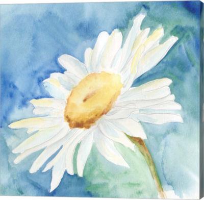 Metaverse Art Daisy Sunshine I Canvas Wall Art