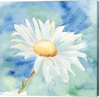 Metaverse Art Daisy Sunshine II Canvas Wall Art