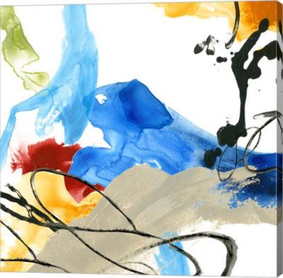 Metaverse Art Formulation I Canvas Wall Art