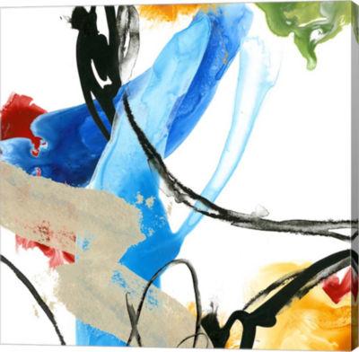 Metaverse Art Formulation II Canvas Wall Art
