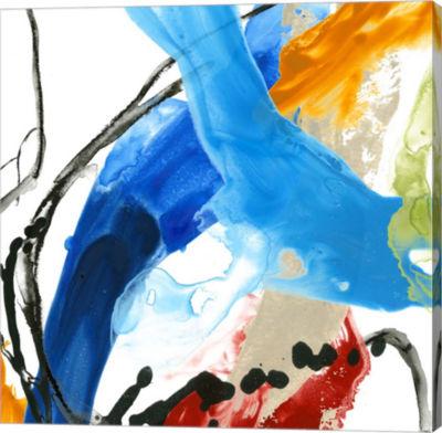 Metaverse Art Formulation III Canvas Wall Art