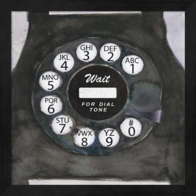 Metaverse Art Phoning I Framed Wall Art