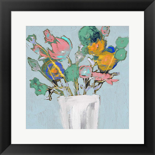 Metaverse Art Fun Bouquet I Framed Wall Art