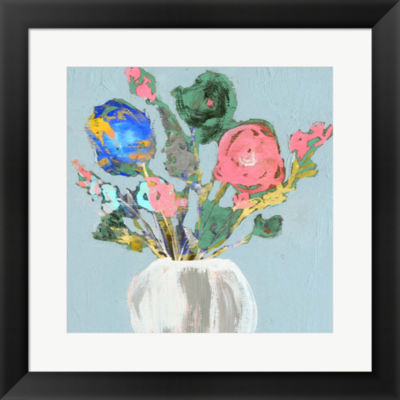 Metaverse Art Fun Bouquet II Framed Wall Art