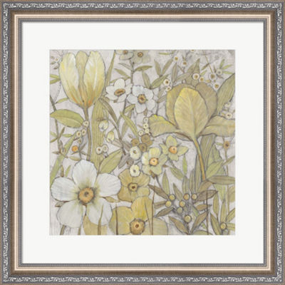 Metaverse Art Mix Floral II Framed Wall Art