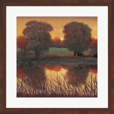 Metaverse Art Early Evening II Framed Wall Art