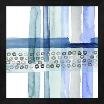 Metaverse Art Cross Stitch III Framed Wall Art