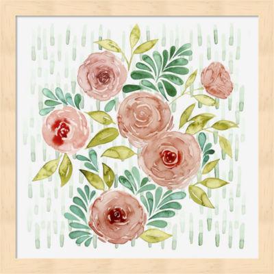 Metaverse Art Spring Blossoming II Framed Wall Art
