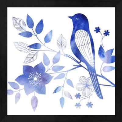 Metaverse Art Avian Twilight I Framed Wall Art