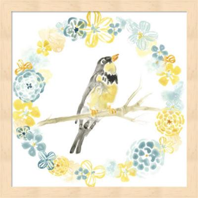 Metaverse Art Solo Songbird I Framed Wall Art