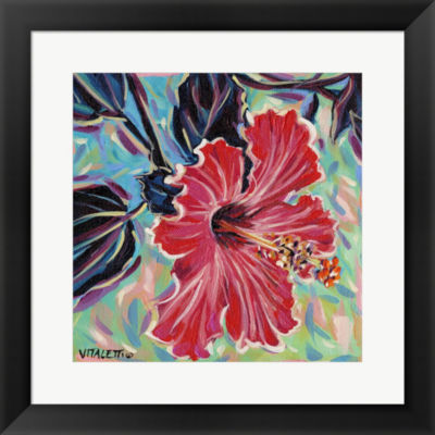 Metaverse Art Hawaiian Beauty I Framed Wall Art