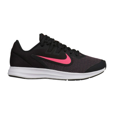 Nike Downshifter 9 Big Kids Girls Sneakers Lace-up