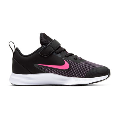Nike Downshifter 9 Little Kids Girls Sneakers Lace-up