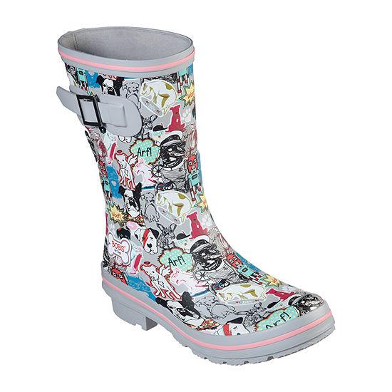 Skechers Bobs Womens Rain Check Rain Boots Waterproof