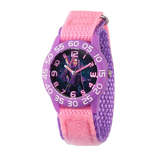 Marvel Girls Pink Strap Watch-Wma000323