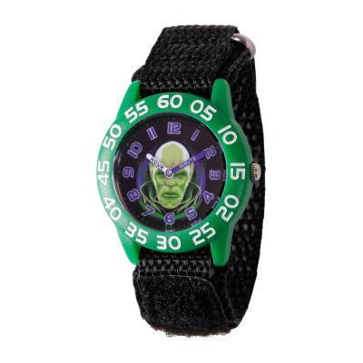 Marvel Boys Black Strap Watch-Wma000324