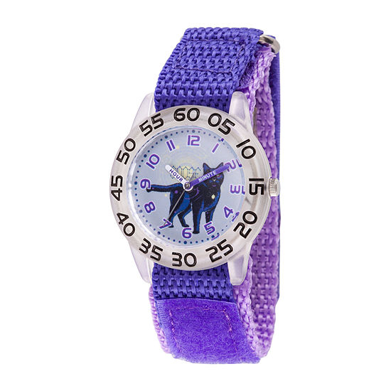 Goosebumps Girls Purple Strap Watch-Wma000325