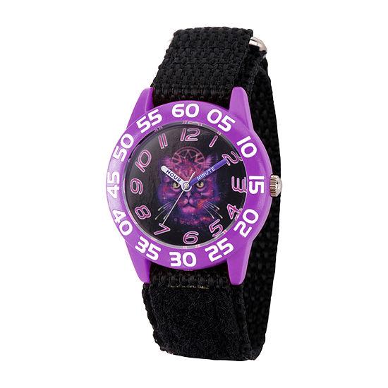 Marvel Marvel Boys Black Strap Watch-Wma000326