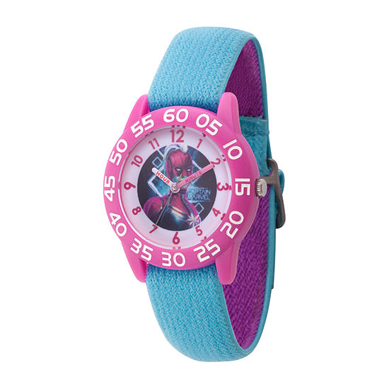 Marvel Boys Blue Strap Watch-Wma000327