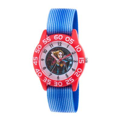 Marvel Boys Blue Strap Watch-Wma000328