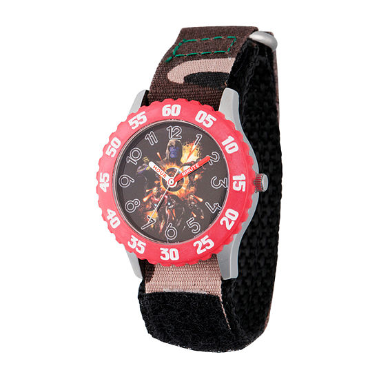 Marvel Avengers Boys Strap Watch-Wma000329