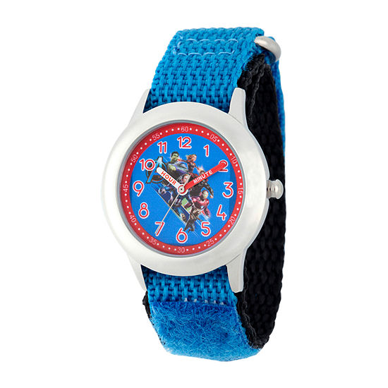 Marvel Avengers Boys Blue Strap Watch-Wma000332