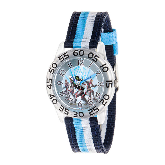 Avengers Boys Multicolor Strap Watch-Wma000338