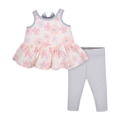 Gerber 2-pc. Legging Set-Baby Girls