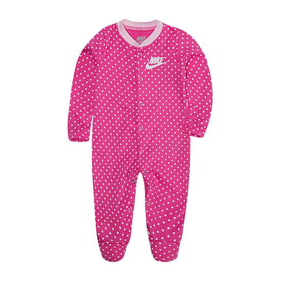 Nike Footed Baby Girls Sleep and Play