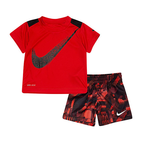Nike 2 Pc Short Set Baby Boys