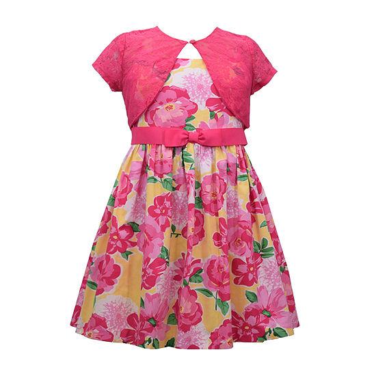 Bonnie Jean 2 Pc Jacket Dress Girls Toddler
