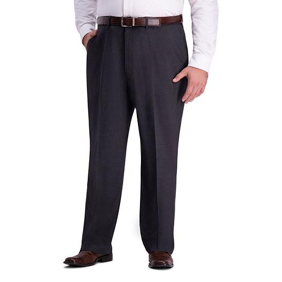 Haggar-Big and Tall Mens Classic Fit