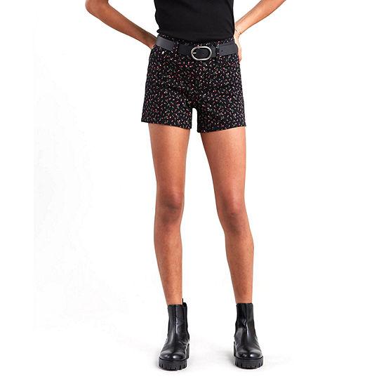 "Levi's® Mid Length Short Womens Mid Rise 4 1/2"" Denim Short"