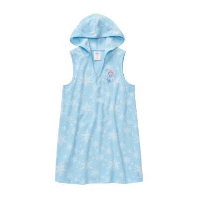 Disney Collection Little & Big Girls Frozen Swimsuit Cover-Up Dress