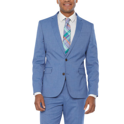 JF J.Ferrar Mens Super Slim Fit Suit Jacket