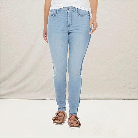 a.n.a Womens High Rise Skinny Jean, 2 , Blue