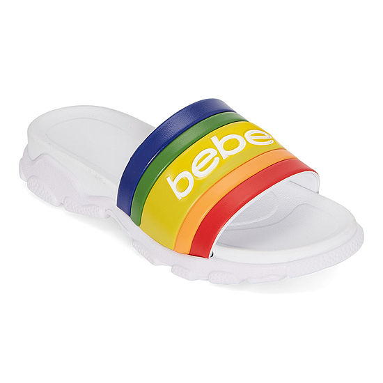 Bebe Womens Norinne Slide Sandals