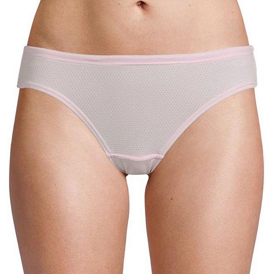 Fruit of the Loom Ladies Breathable 5 Pair Knit Bikini Panty 5dpbbk1