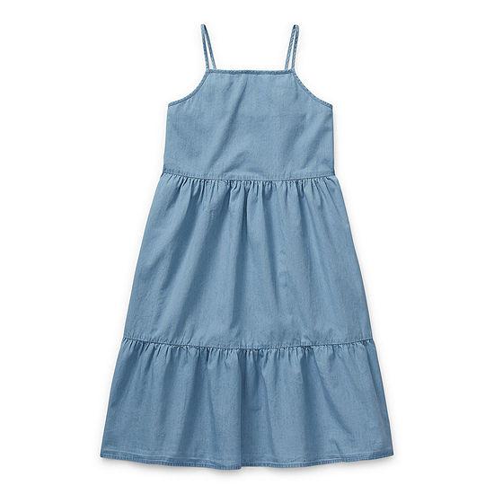 Arizona Little & Big Girls Sleeveless A-Line Dress