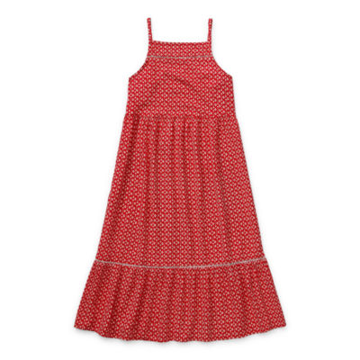 Arizona Little & Big Girls Sleeveless Maxi Dress
