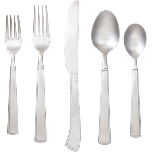 Cambridge® Holland Satin 45-pc. Flatware Set