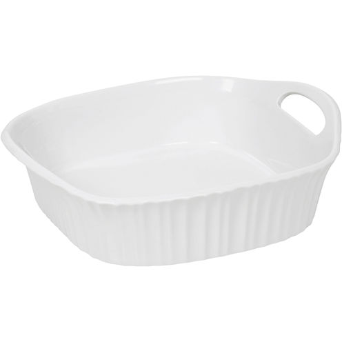 "CorningWare® French White III 8"" Square Baking Dish"