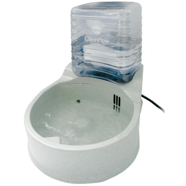 K & H Manufacturing CleanFlow Dog Bowl with Reservoir