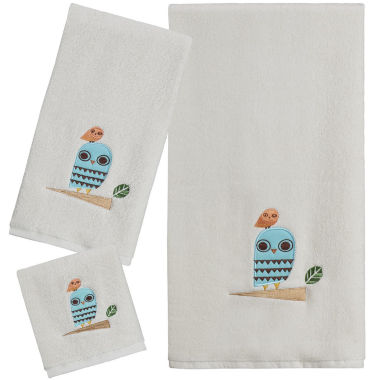 Creative Bath™ Give A Hoot Bath Towels