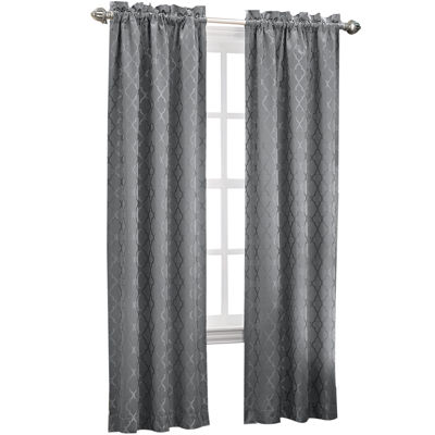 sun zero dion rodpocket thermal curtain panel