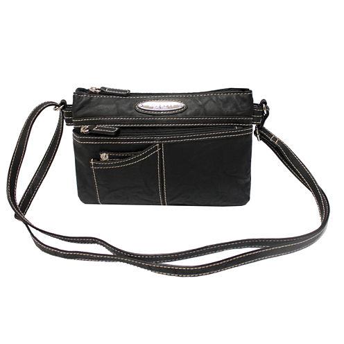 Rosetti® Cash and Carry Pockets Mini-Crossbody Bag