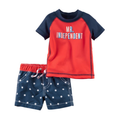 Carter's Boys Trunk Set - Baby