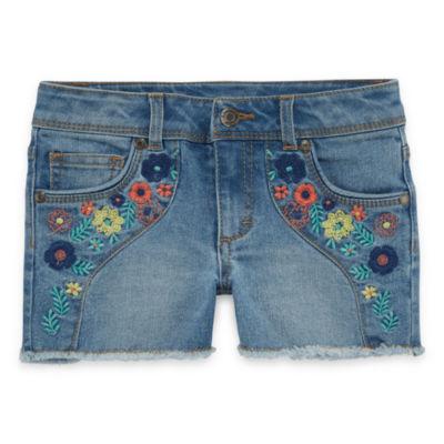 Arizona Denim Shortie Shorts - Toddler