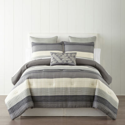 Studio Studio Vale 3-pc. Stripes Comforter Set